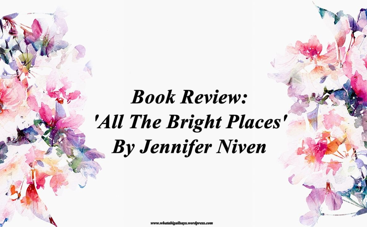 All The Bright Places Banner