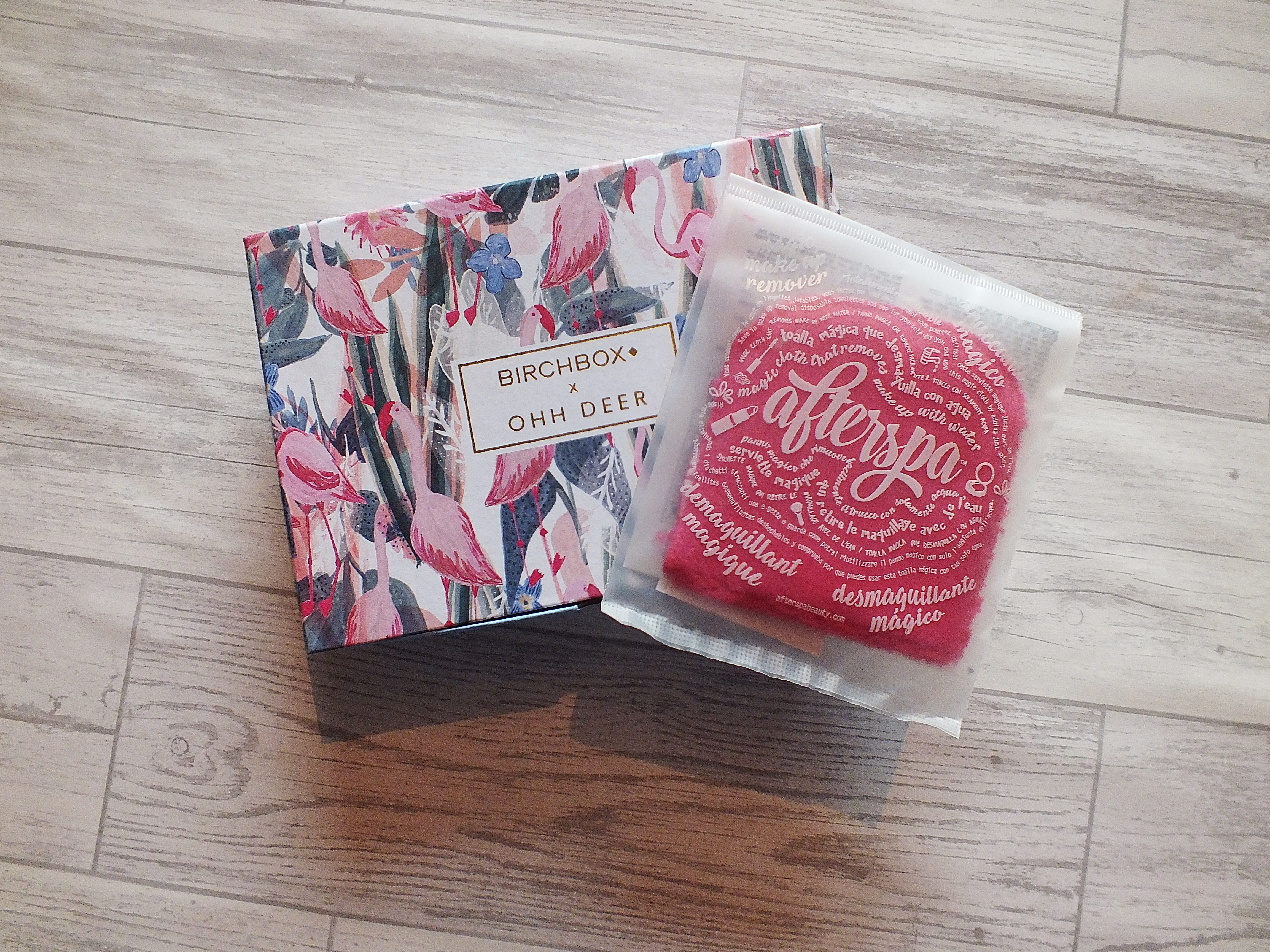 Birchbox x Ohh Deer Afterspa Makeup Remover
