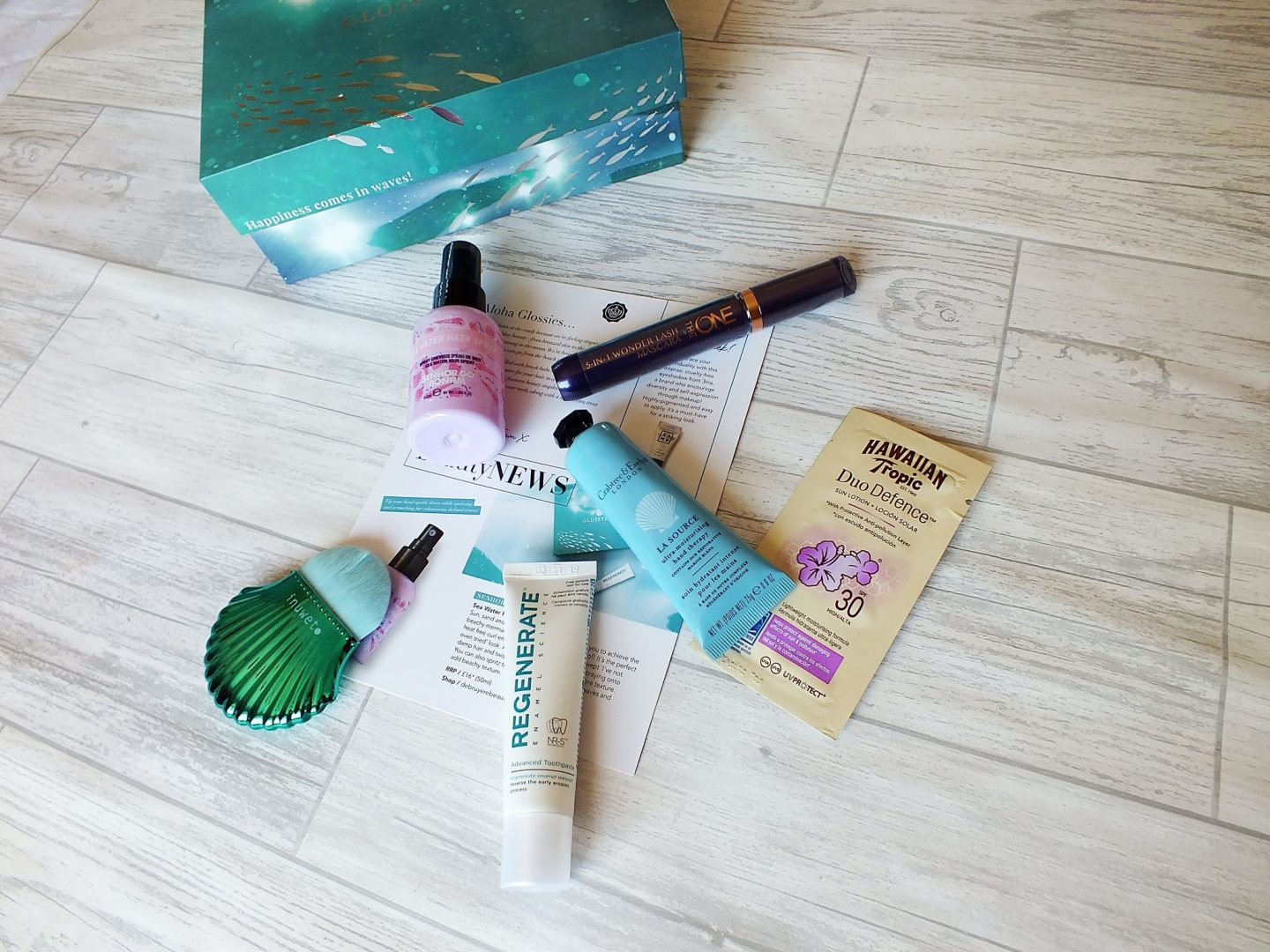 July Glossybox 2018 including contents