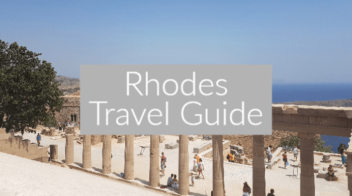 AD: Rhodes Travel Guide