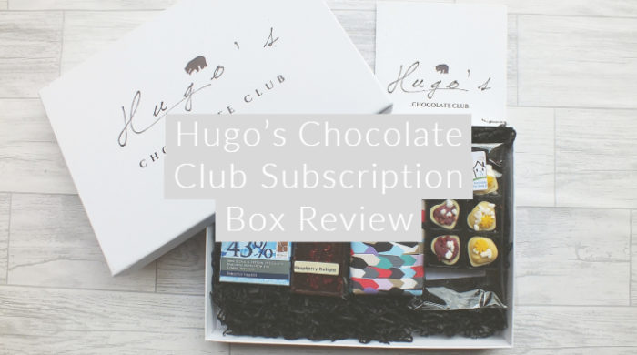AD Hugo's Chocolate Club Subscription Box Review