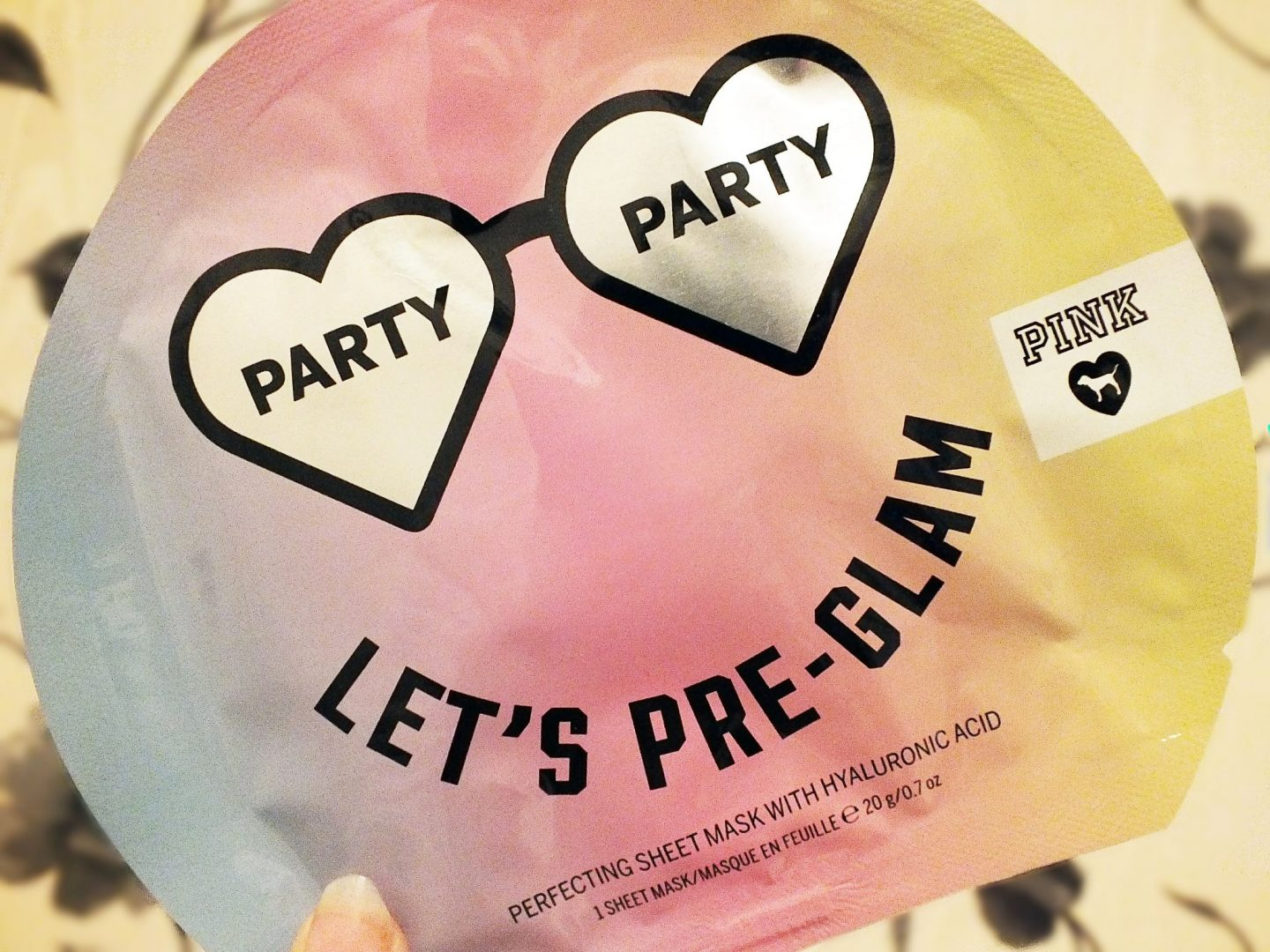 Victoria Secret Let's Pre-Glam Sheet Mask