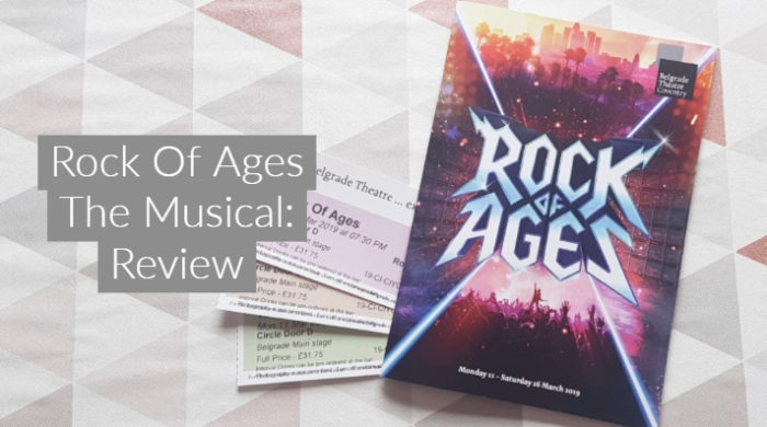 Rock Of Ages The Musical: Review