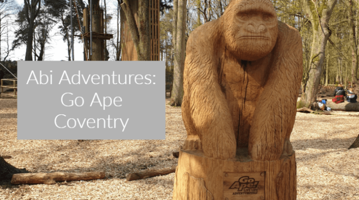 AD Abi Adventures: Go Ape Coventry