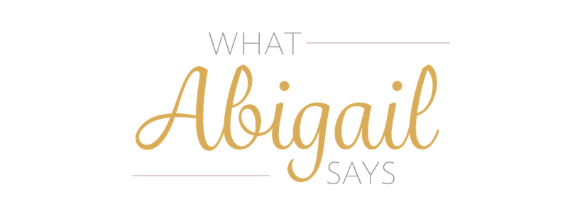 What Abigail Says | UK Blogger