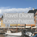 Image of Nyhavn harbour with text overlay Copenhagen Travel Diary