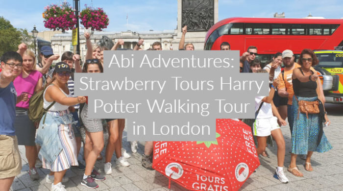 AD Abi Adventures: Strawberry Tours Harry Potter Walking Tour in London