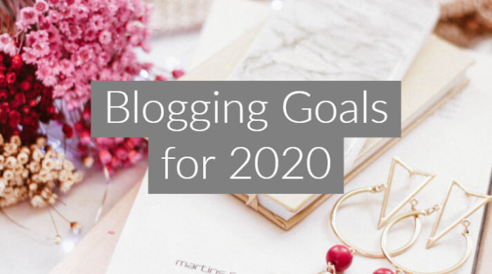 Blogging Goals For 2020