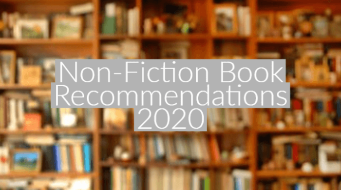 Non-Fiction Book Recommendations 2020